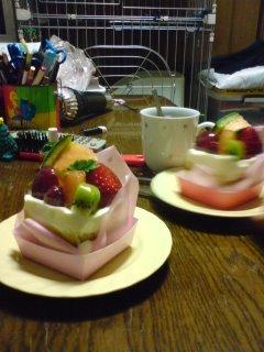 野苺ケーキ2月14日2