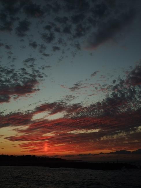 鳥取の夕日