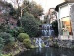 椿山荘 滝