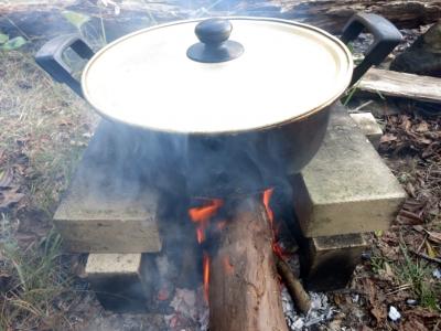 190106-104=レモンジャム煮詰め a庵前庭