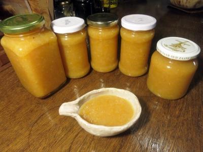 190106-119=レモンジャム瓶詰完了 a庵厨房