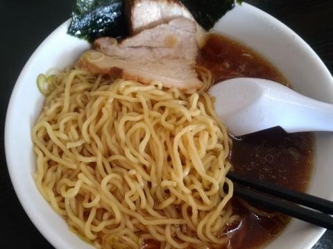 笹舟須頃店・H29 8 ラーメン 麺
