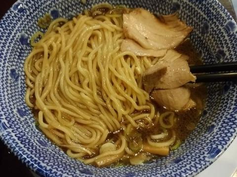 ちょび吉・H29・9 ド生姜醤油ラーメン 麺