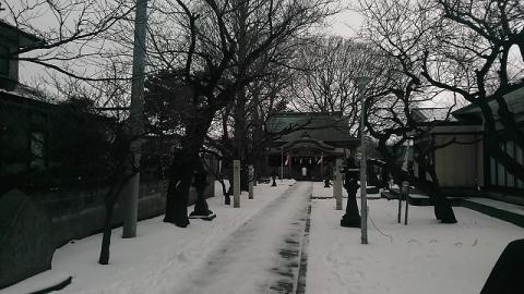 秋田市の菅原神社