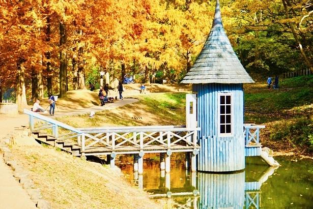 水遊び小屋