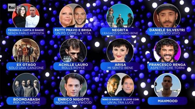 Sanremo2019Secondi Serata