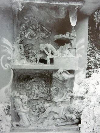 チビチリガマ世代を結ぶ平和の像
