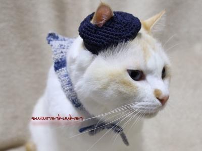 ベレー帽セット2着用例