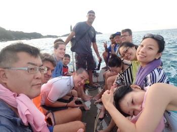 タオ島、ダイビング、年末、もぐり収め