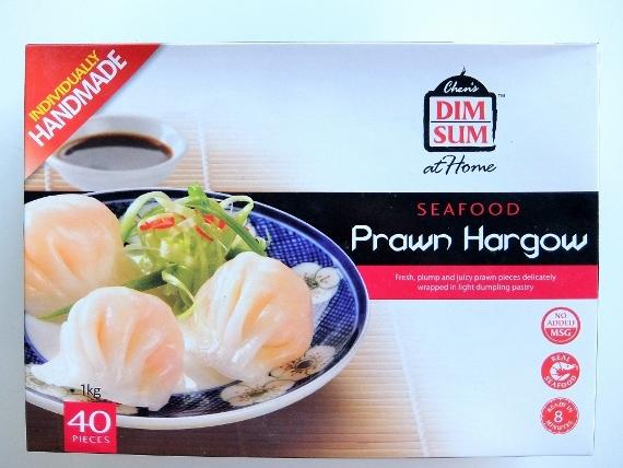 コストコで買った Chen's えびぎょうざ 1598円 J.S. Chen's Dimsum Seafood Prawn Hargow