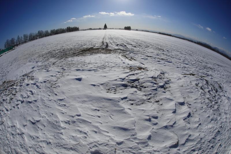 9875 農村の冬景色