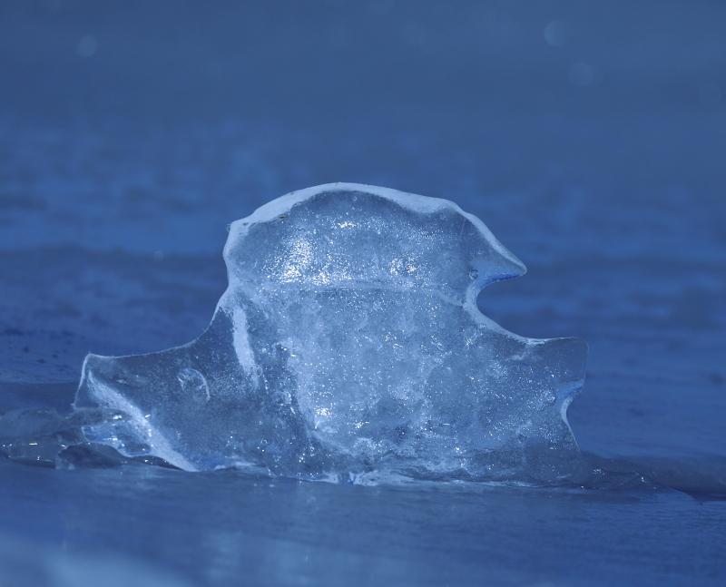 1103 氷の造形