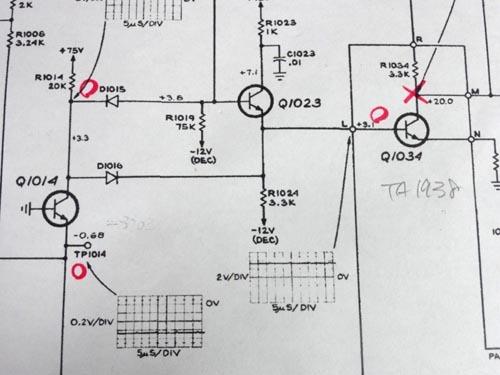 textronix 453 310