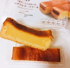 セブンプレミアム2種のチーズを使用したベイクドチーズケーキスティック
