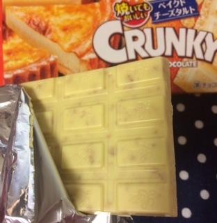 クランキー<ベイクドチーズタルト>チョコサク!クランキー