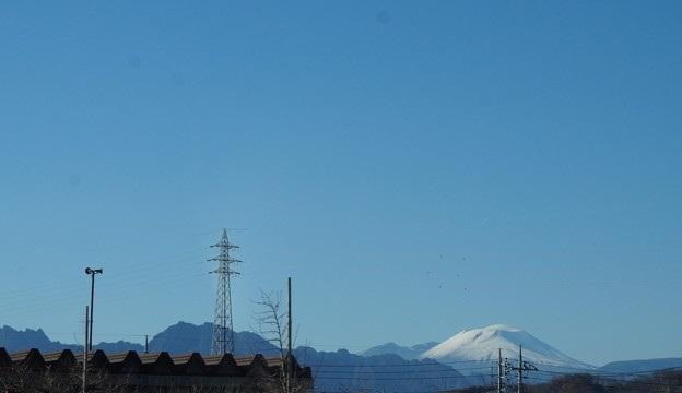 真っ白い浅間山
