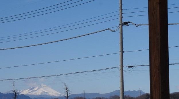 浅間山の雪化粧