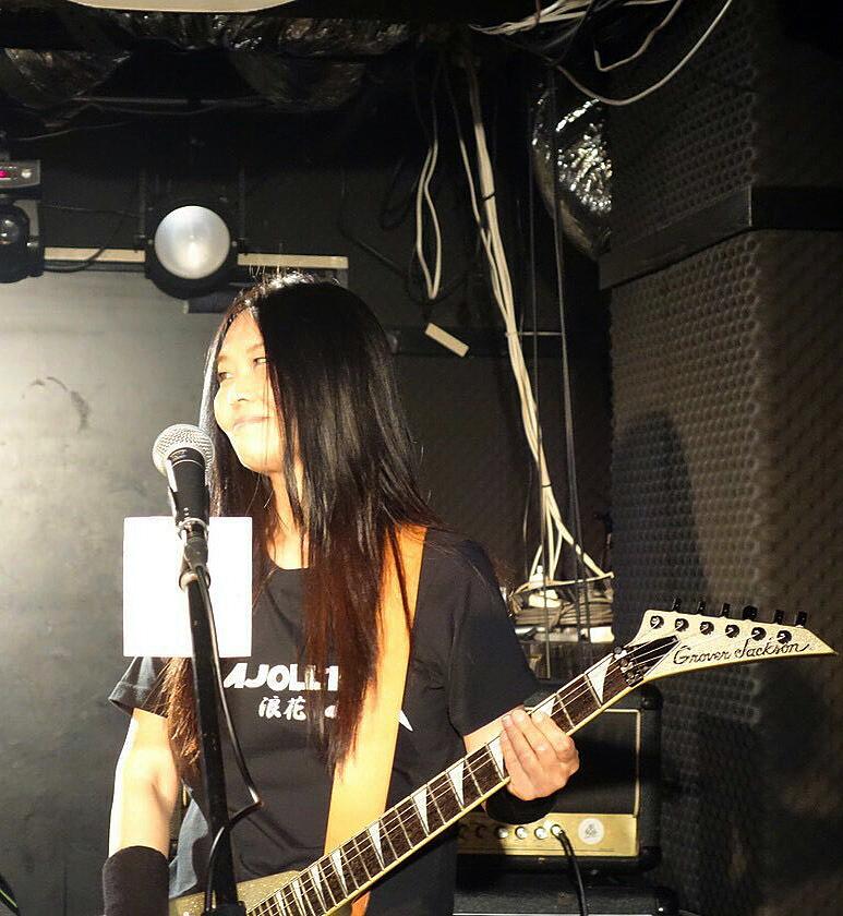 MAJOLLICA浪花最終ライブ2018年12月2日-ギターのこーさん