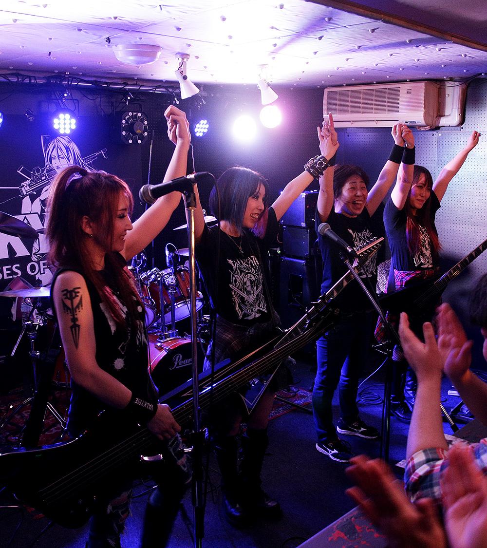 全員集合VALKYRIE(ヴァルキューレ)ライブ2019@心斎橋JUZA