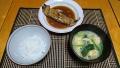煮魚定食 20181218