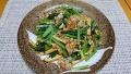 小松菜と薄あげの豚肉炒め 20190125
