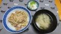 鶏の柳川丼 20190220