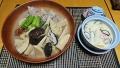 竹の子と鶏肉の梅煮 茶碗蒸し 20190223