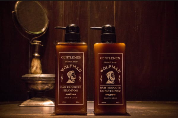 GLAD HAND×WOLFMAN BARBER SHOP WOLFMAN-SHAMPOO&CONDITIONER