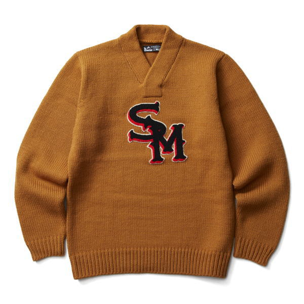 SOFTMACHINE SM LETTERED SWEATER