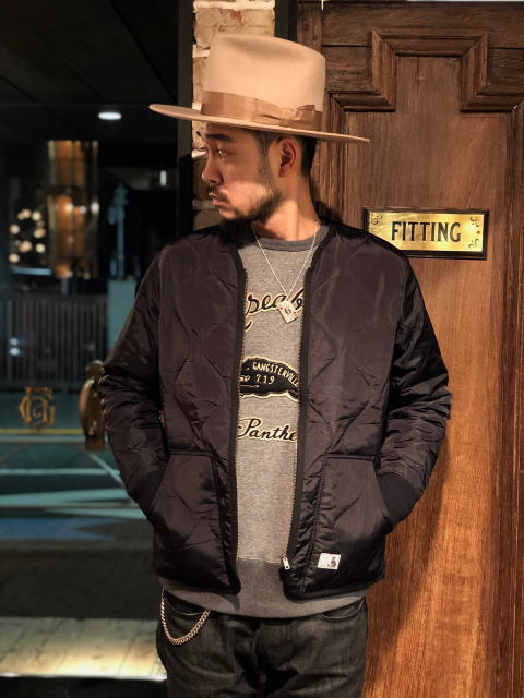 GANGSTERVILLE RAZORGANG-QUILTED JACKET