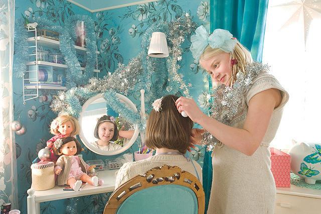 アンネリと鏡