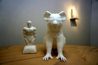 finch彫刻1