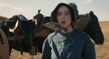『バスターのバラード』 「早とちりの娘」の主人公を演じるのはゾーイ・カザン。