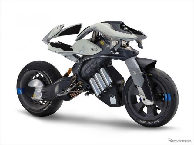【自律モーターサイクル】ヤマハの自律モーターサイクル「モトロイド」、世界3大デザイン賞を制覇