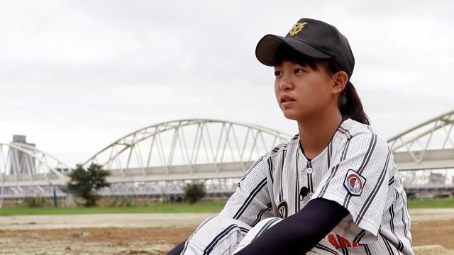 【野球】最速123キロ女子中学生・島野愛友利 夢は「もう1度、男子と戦いたい」