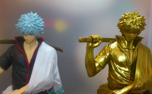 ジャンプ50周年 アニバーサリーフィギュア SPECIAL 1 銀魂 坂田銀時 ゴールド
