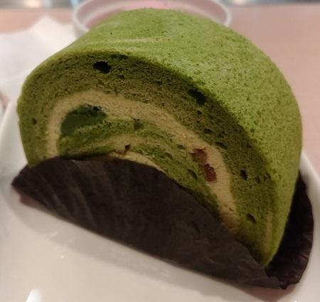 南瓜抹茶ロール/cafe terrace CAUSETTE1