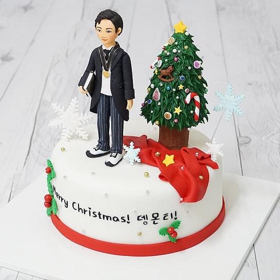 クリスマスサポートケーキ