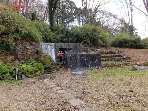 神奈川県企業庁水土野水源・石室