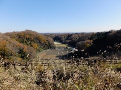 本沢ダムより東方向の眺め