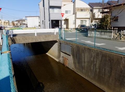 干無川と三田用水流末