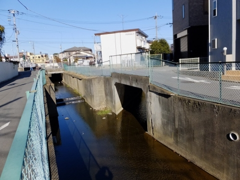干無川に合流する中堀