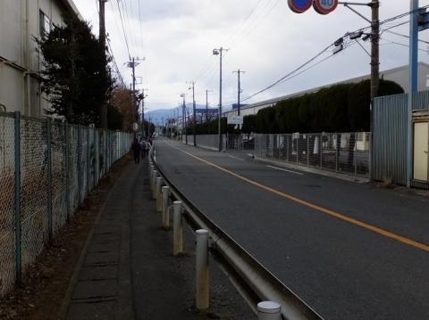 柏尾通り大山道