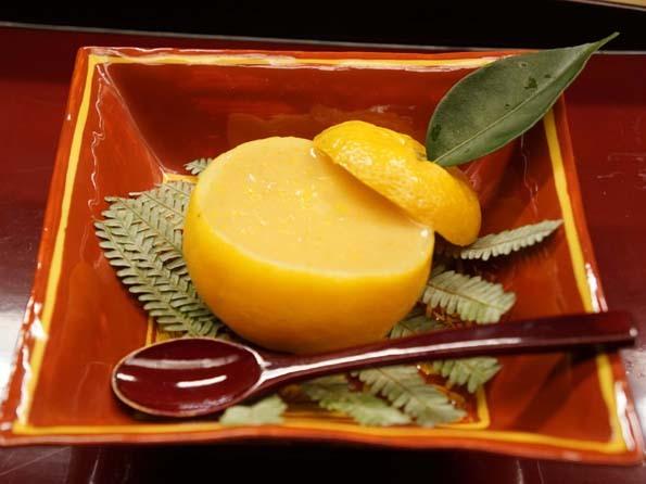 20181114 菊の井 6 柚子豆腐 21㎝ DSC01241