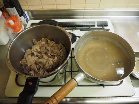 牛すじ味噌煮込み、土手焼き013
