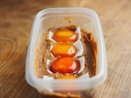 卵黄味噌漬け039