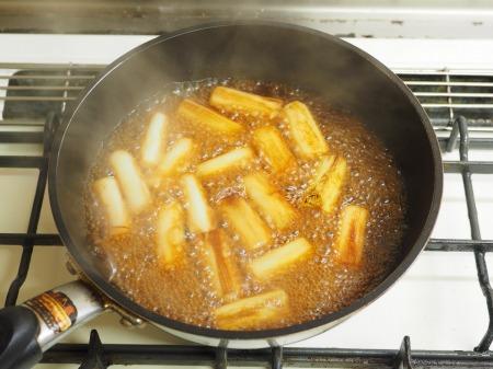つぶ貝缶詰と長ねぎのうま煮013