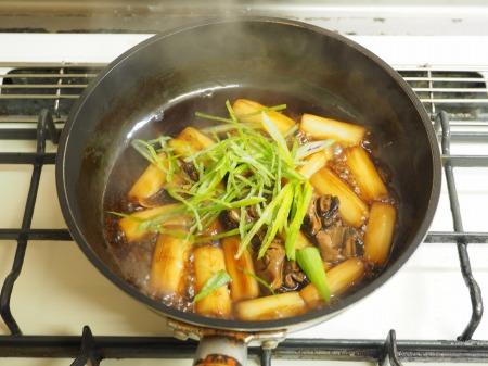 つぶ貝缶詰と長ねぎのうま煮018