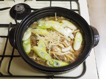牛すじ豆腐鍋013