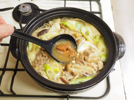牛すじ豆腐鍋015
